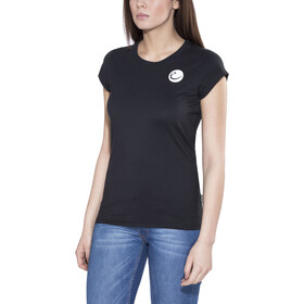 Edelrid Highball Kortærmet T-shirt Damer sort